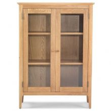 warley glazed bookcase
